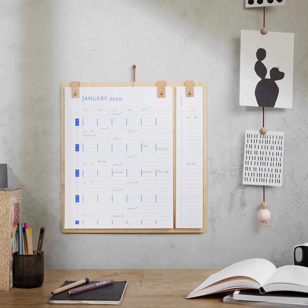 Kalender Planner Board by Wirth Keiserens nye trær